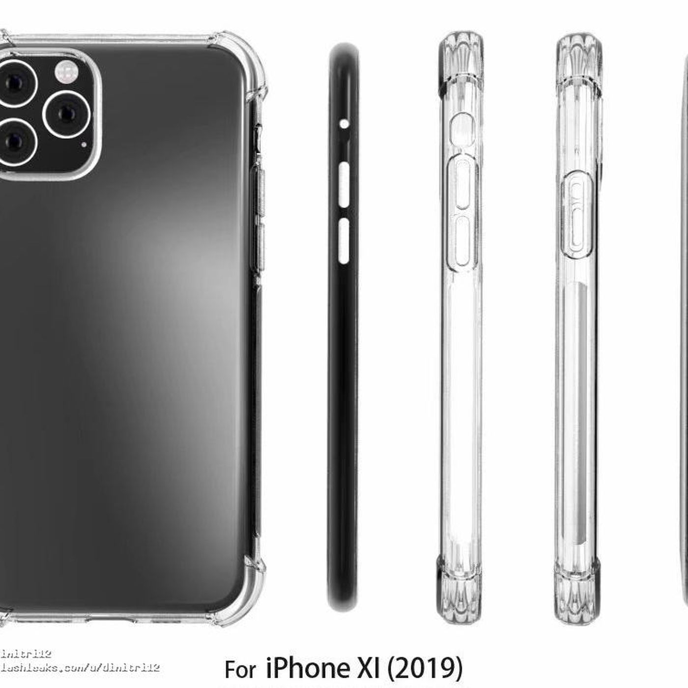 best service 9f935 f8180 iPhone case makers are betting the giant camera bump leaks are right ...