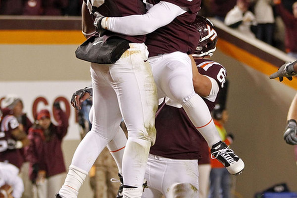 The Hokies will invade Heinz Field this weekend (Photo by Geoff Burke/Getty Images)