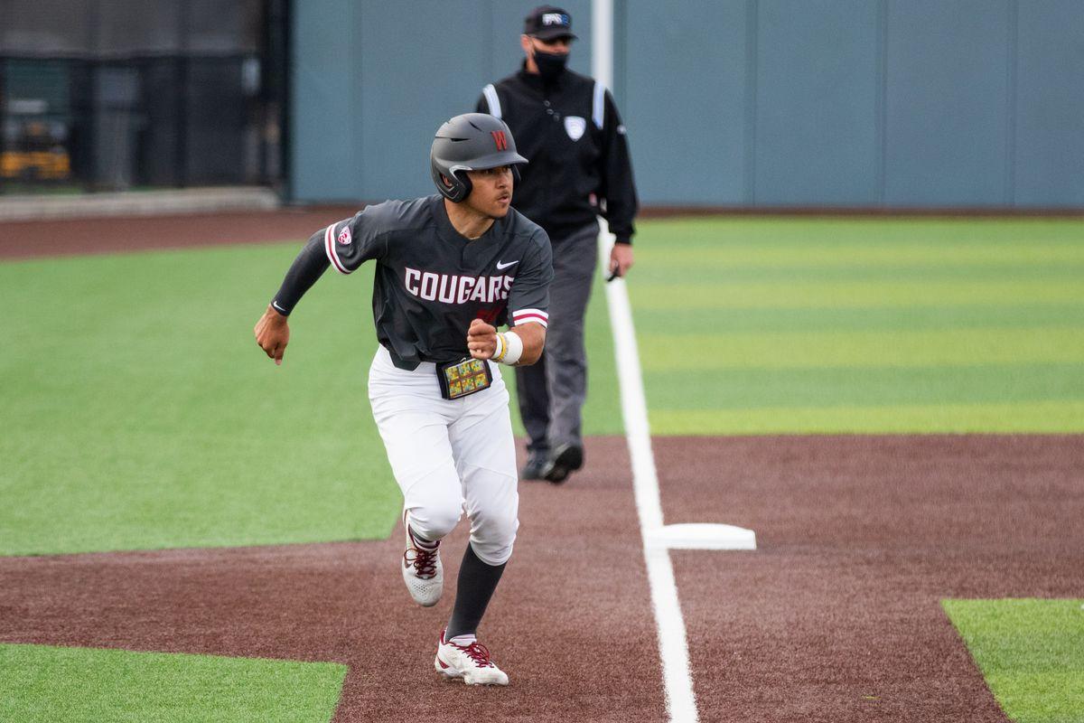Washington State University Baseball versus Stanford April 2nd at Bailey Brayton Field in Pullman, WA.