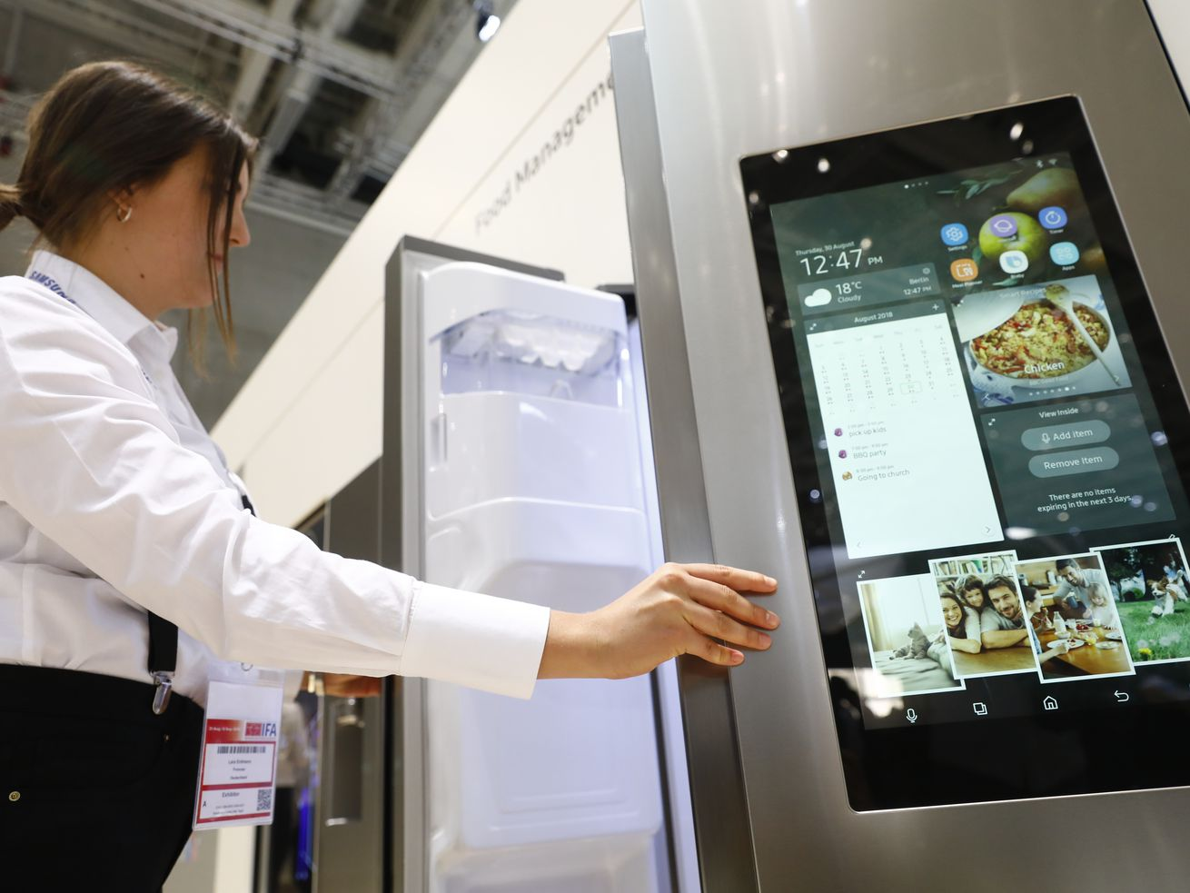 Would you trust a smart fridge? What if it's really, really convenient?