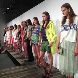 "The full lineup. Photo via <a href=""http://instagram.com/p/eFRC_VmEjQ/#"">imninagarcia</a>/Instagram."