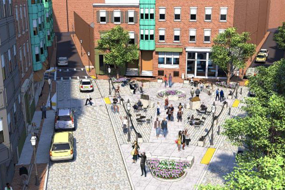 north end u0027s north square undergoing major renovation curbed boston