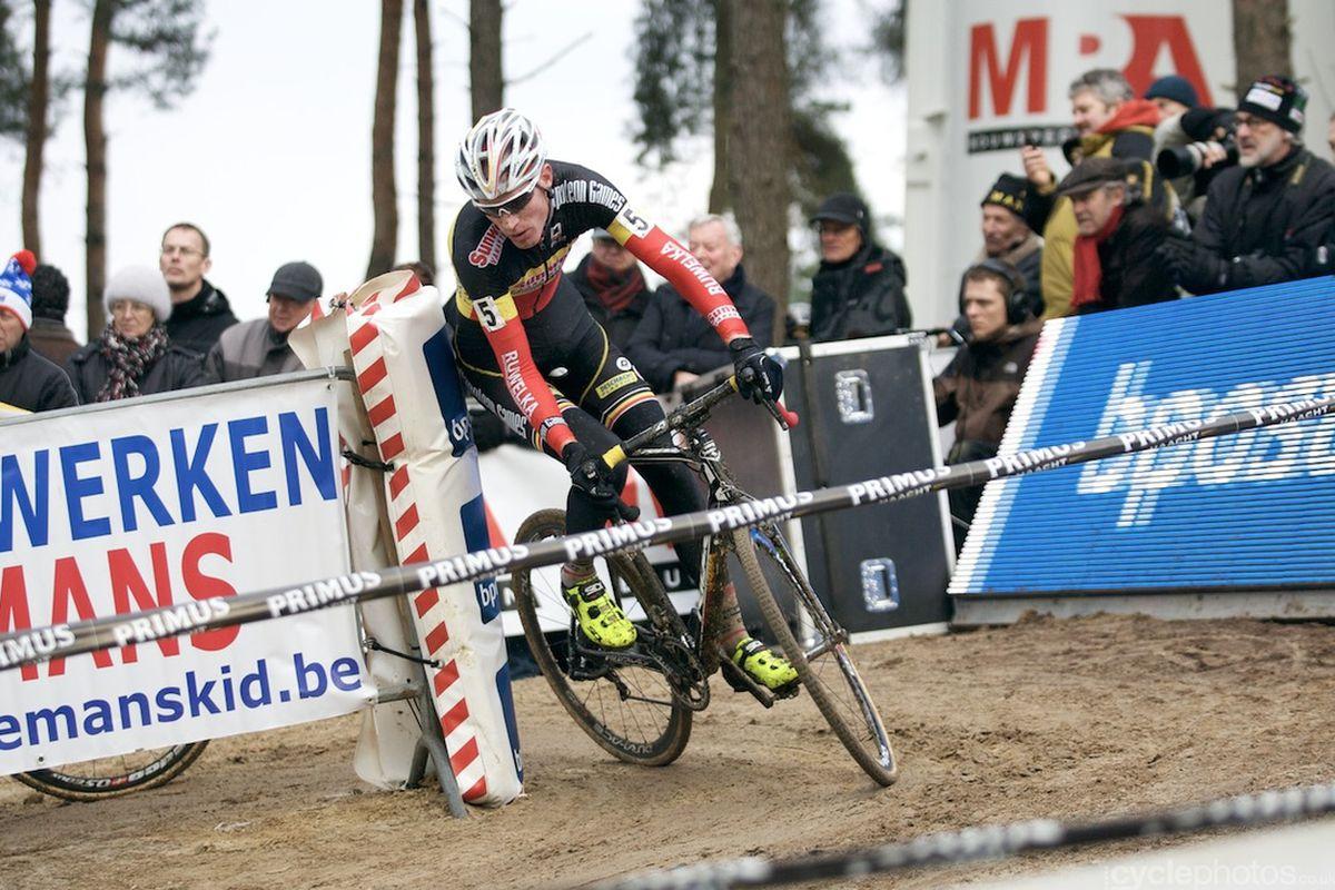 The current champ: Klaas Vantornout.