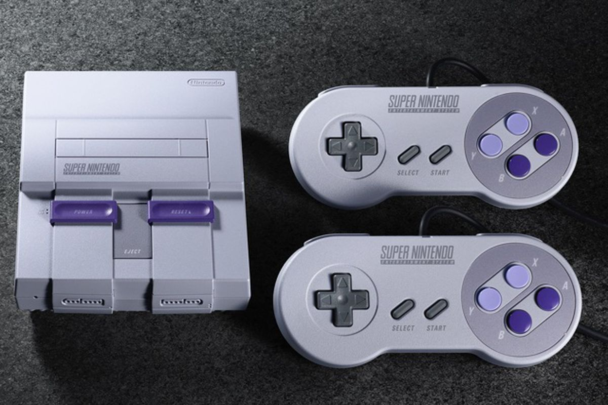 snes classic coming this september with a never before released