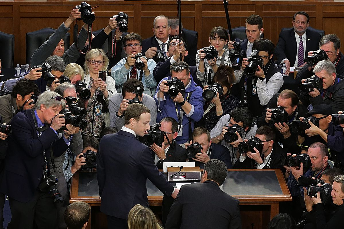 Mark Zuckerberg Brings Apology Tour to Congress