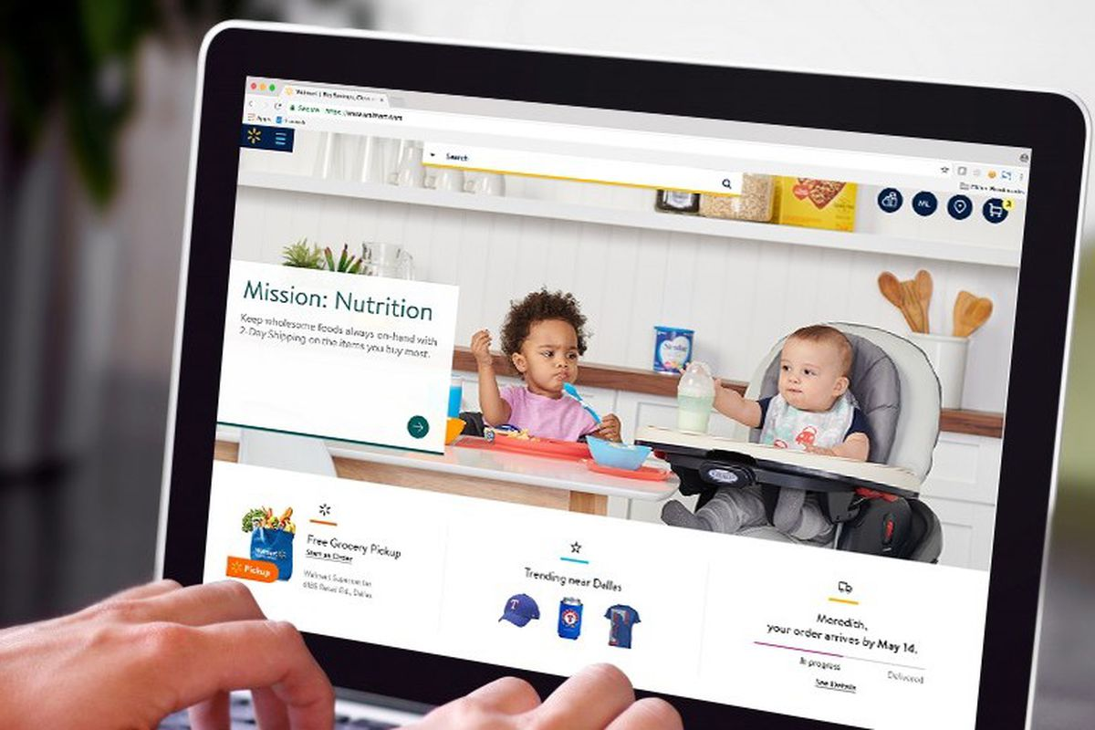 Walmart\'s getting a much-needed site overhaul in May - The Verge