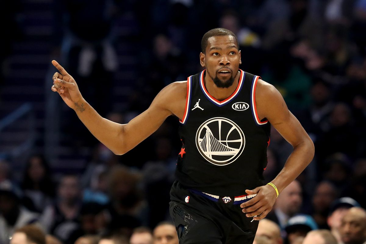 c0a292a9153f Kevin Durant dominated the 2019 All-Star game with efficiency ...