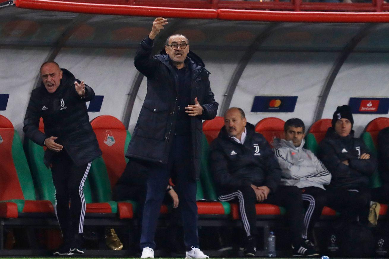 Sarri: Not one of Juve?s best performances