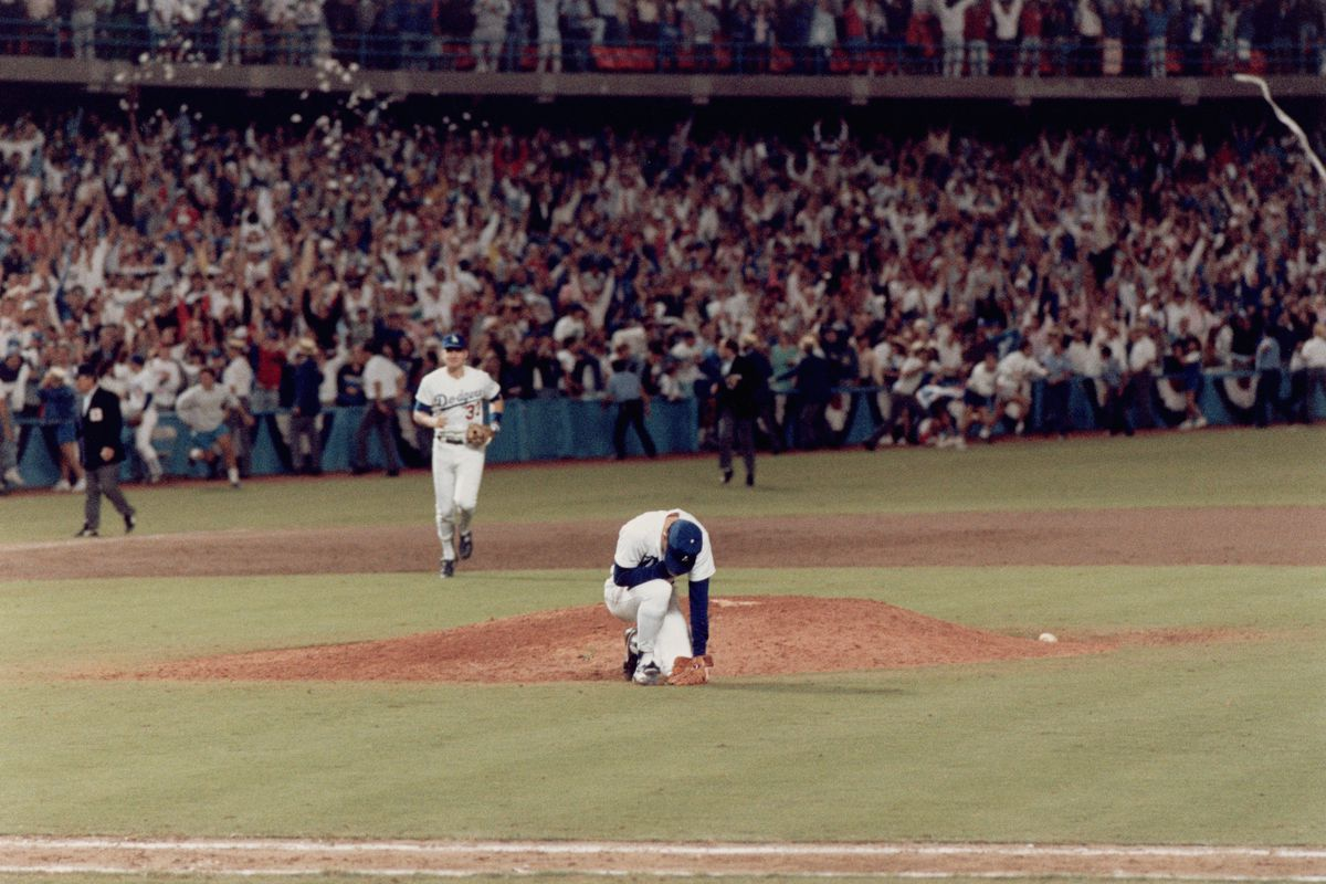 1988 NLCS: New York Mets v Los Angeles Dodgers, Game 7