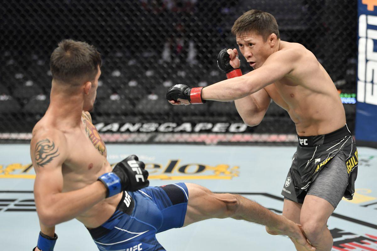 UFC 264: Zhumagulov v Rivera