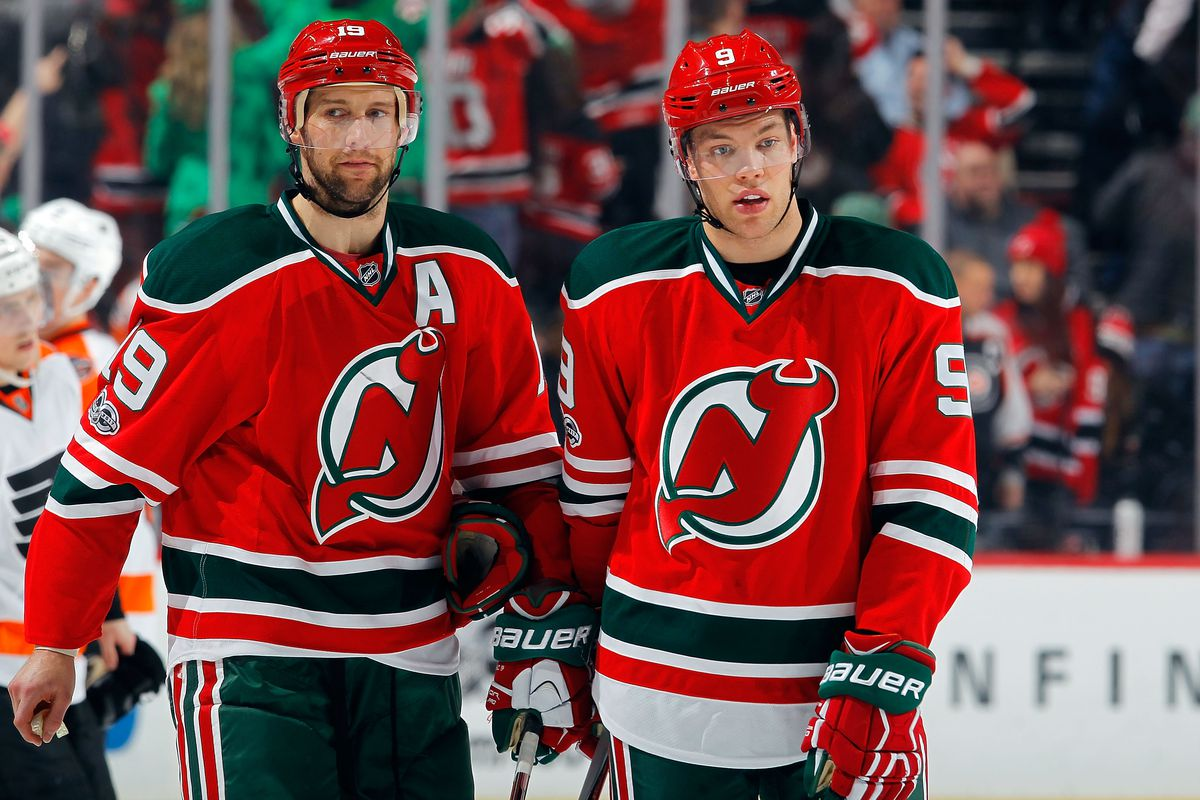 The Return Of Travis Zajac All About The Jersey