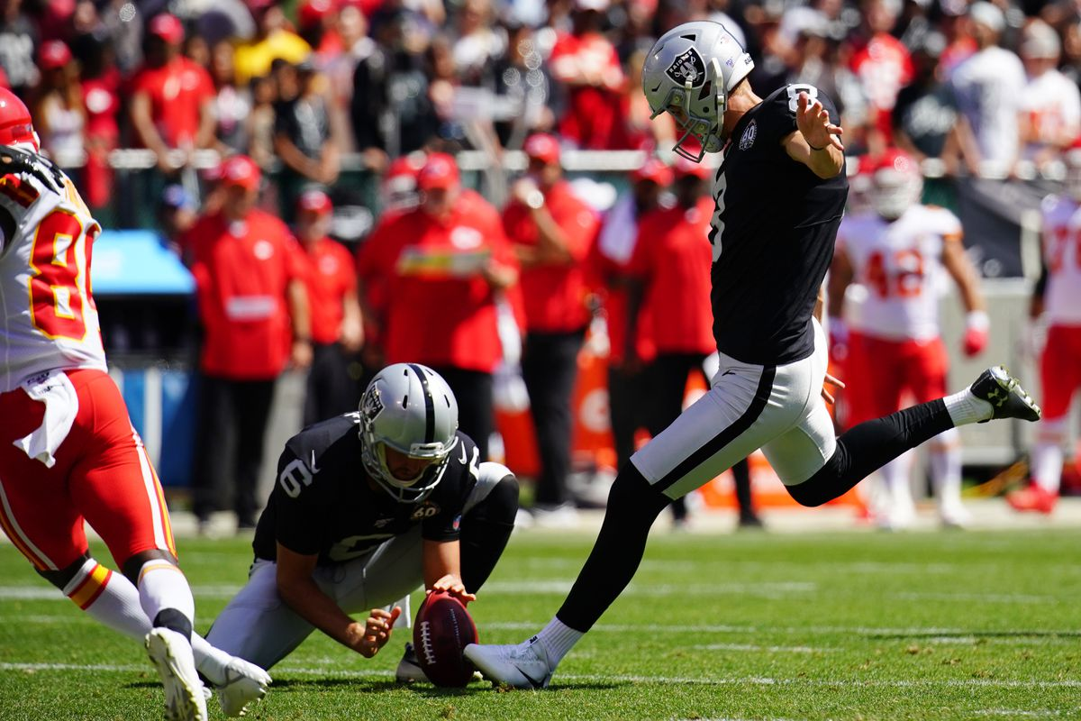 2019 Opponent Scouting Report Raiders Special Teams