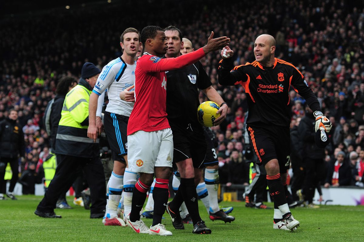 Just what we didn't need.  Mr. Evra, two wrongs don't make a right.