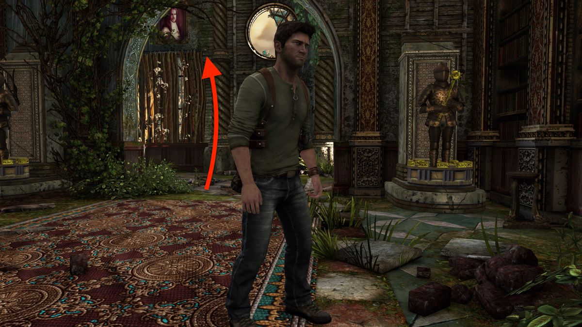 The Chateau Treasure Locations Uncharted 3 Drake S Deception