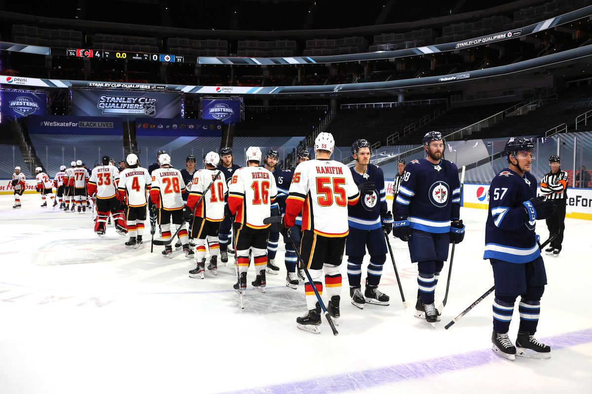 Calgary Flames v Winnipeg Jets - Game Four