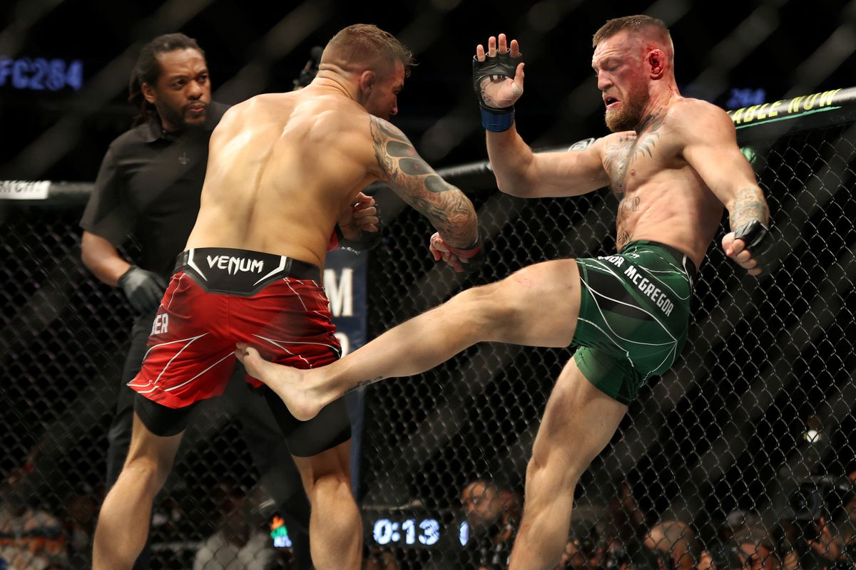 Dustin Poirier closes trilogy with stoppage win after Conor McGregor