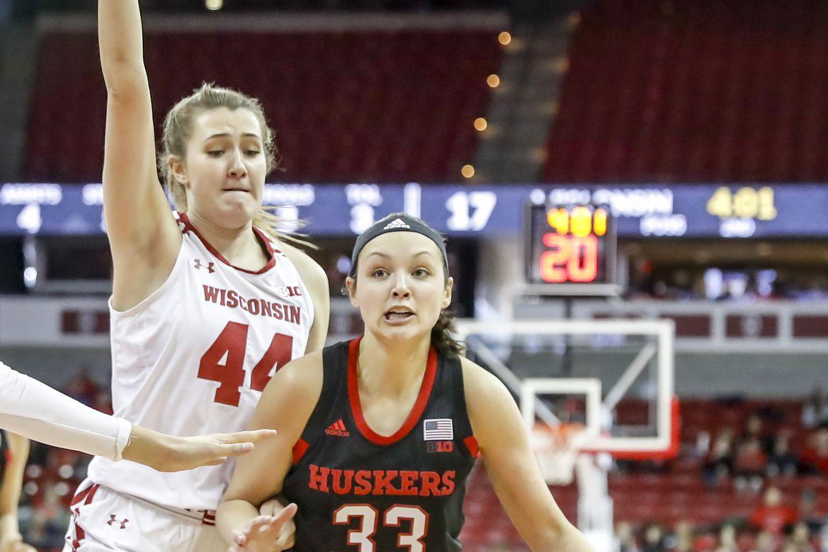 COLLEGE BASKETBALL: JAN 27 Women's Nebraska at Wisconsin