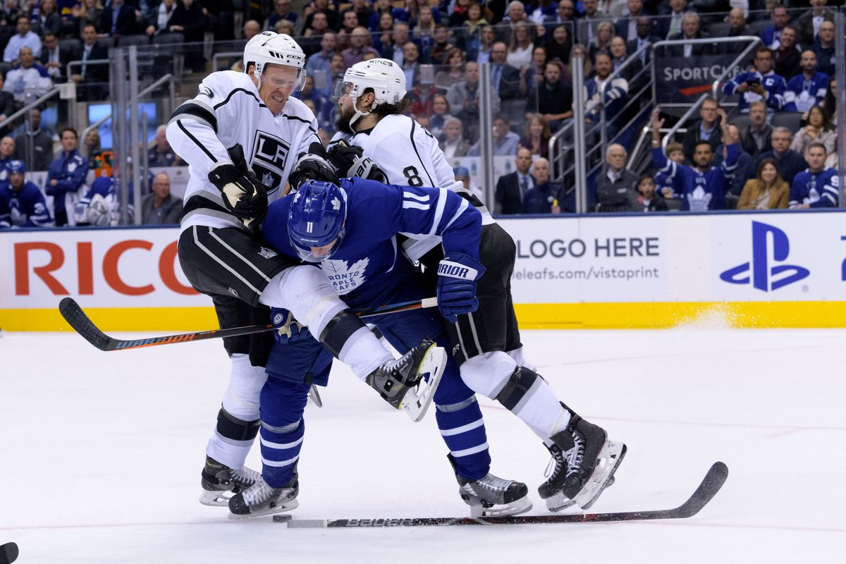 NHL: OCT 15 Kings at Maple Leafs