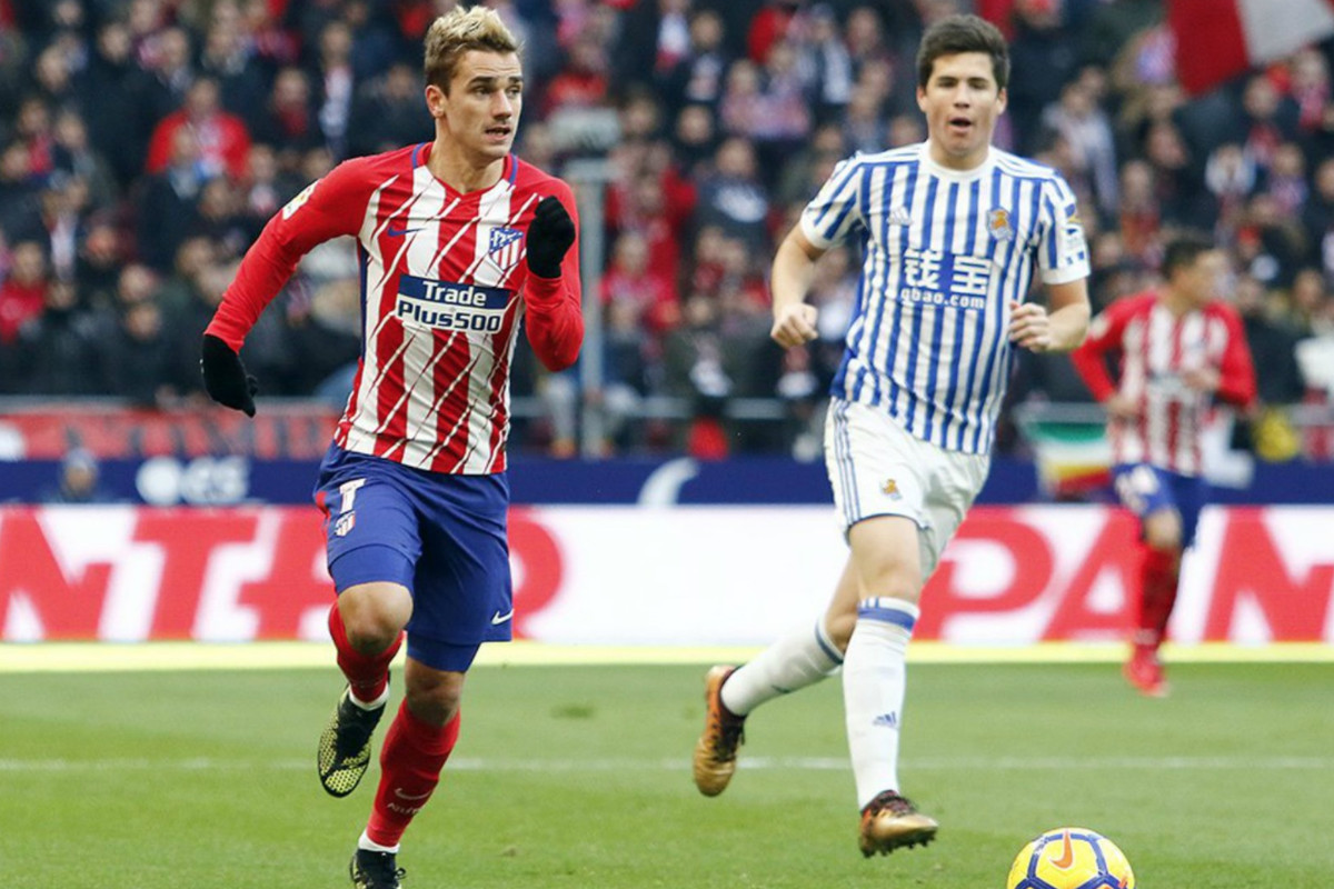 info for a38be 824b9 Atlético Madrid 2-1 Real Sociedad: Griezmann leaves it late ...