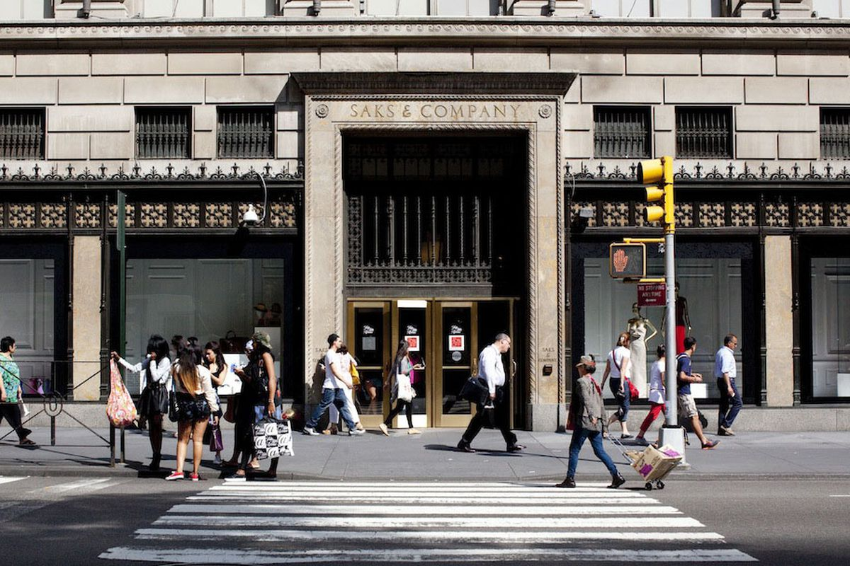 Saks Fifth Avenue. Photo by Brian Harkin.