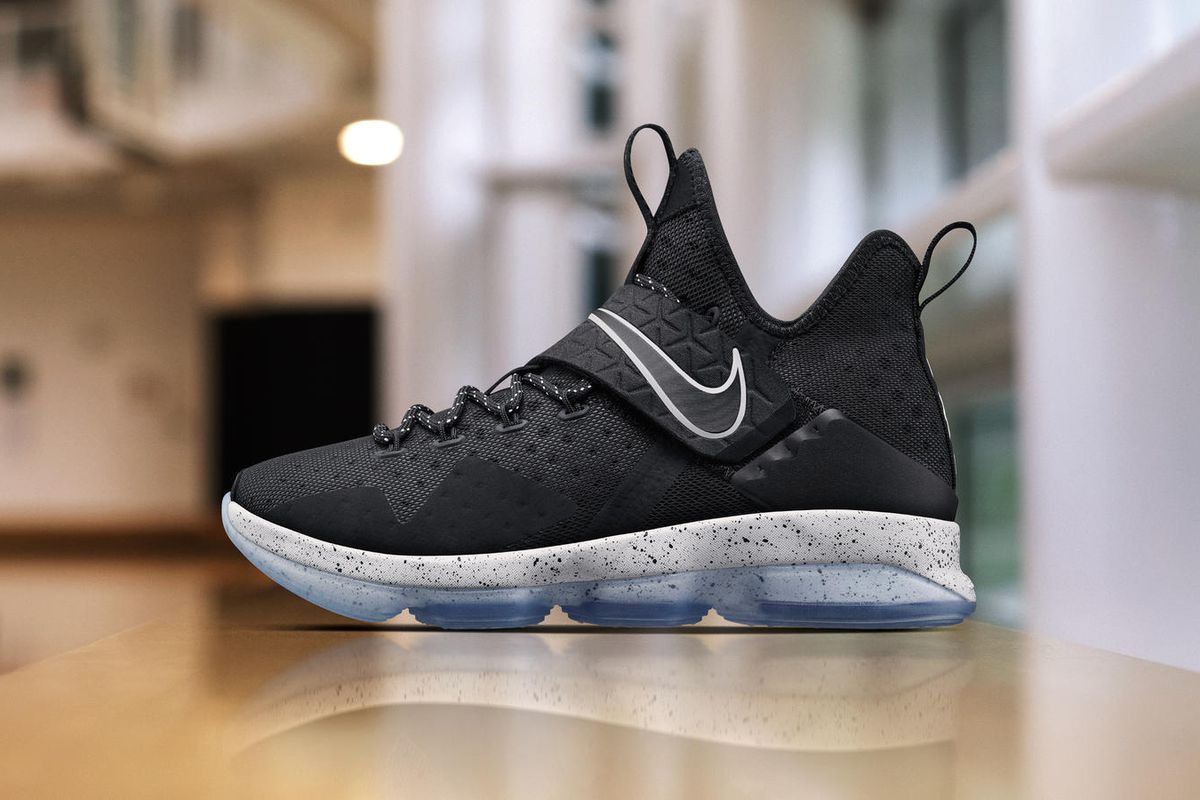 7bc8c3d723f8 The LeBron 14  Black Ice  drops this weekend - Fear The Sword