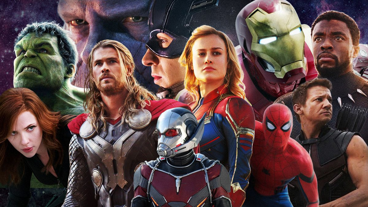 2019 Movie Photography Art: The Marvel Movies Ranked, From Iron Man To Spider-Man: Far