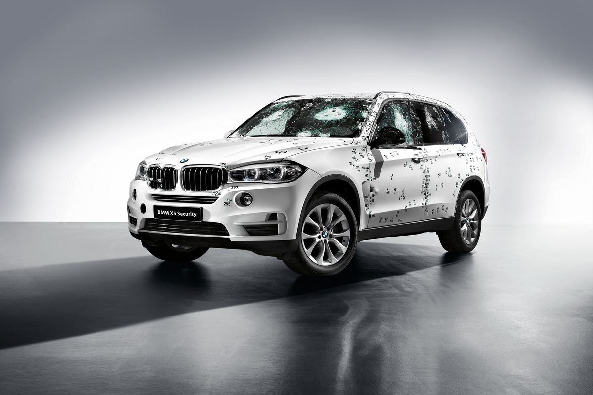 How Does Bmw An Armored Car By Shooting It Dozens Of Times