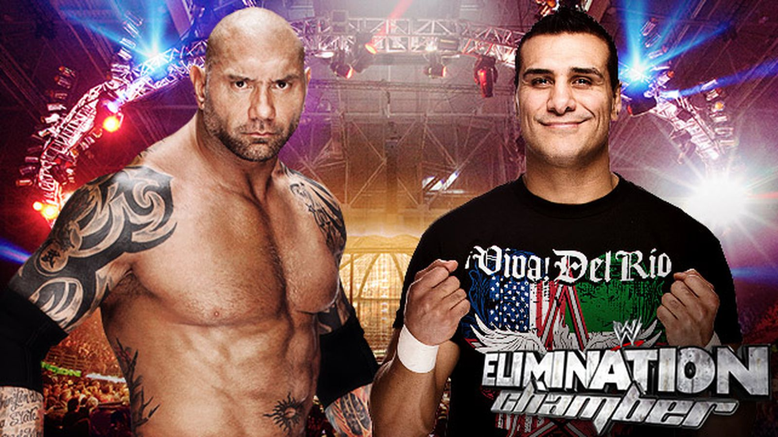 wwe elimination chamber 2014 match card preview batista