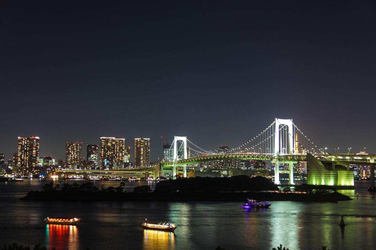 Tokyo Skyline At Night