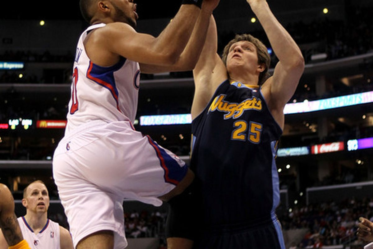 Size rules in the Western Conference, so here's hoping Timofey Mozgov will be ready to anchor the center position. With or without Nene by his side.