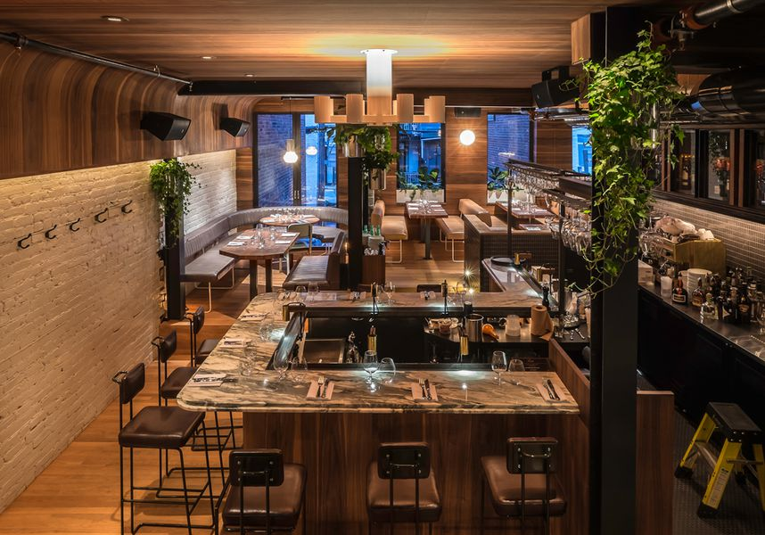 See What ber Montreal Restaurant Designer Zbulon Perron Did in