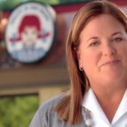 """<a href=""""http://eater.com/archives/2010/11/08/wendy-yes-that-wendy-stars-in-wendys-ads.php"""" rel=""""nofollow"""">Wendy (Yes, That Wendy) to Star in Wendy's Ads</a><br />"""