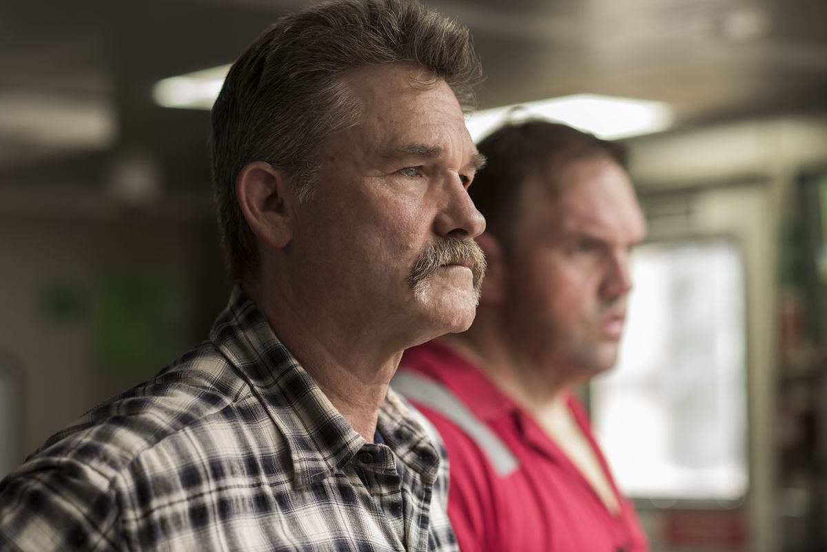 Kurt Russell plays Jimmy Harrell, the rig manager in Deepwater Horizon.