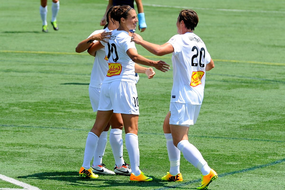 Seeking the top spot in women's soccer, the Flash will host Boston on Saturday