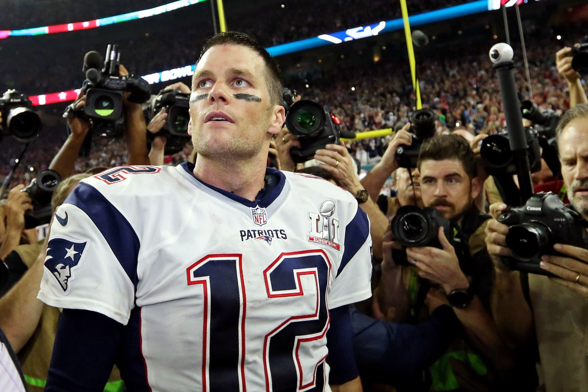 hot sale online f0f77 c01cc Super Bowl 2018: Tom Brady adds to his Super Bowl records vs ...
