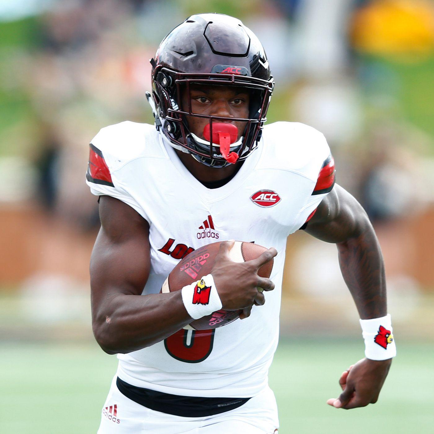 new product 9553a 92334 Lamar Jackson NFL draft declaration: QB leaves Louisville ...
