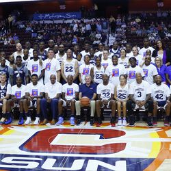 Former UConn Men's and Women's Basketball players and coaches