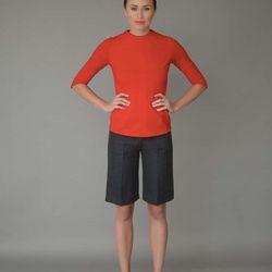 Amalia sweater, $325; Bobby shorts, $325