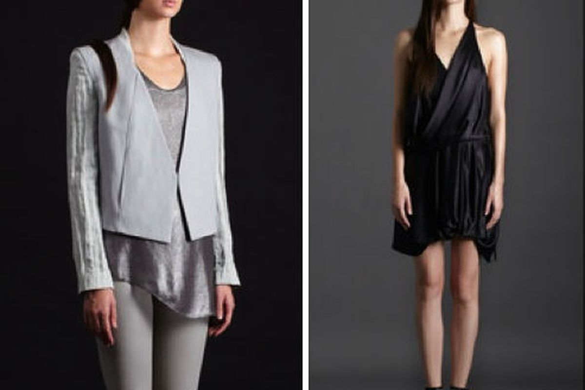 Helmut Lang today on Gilt