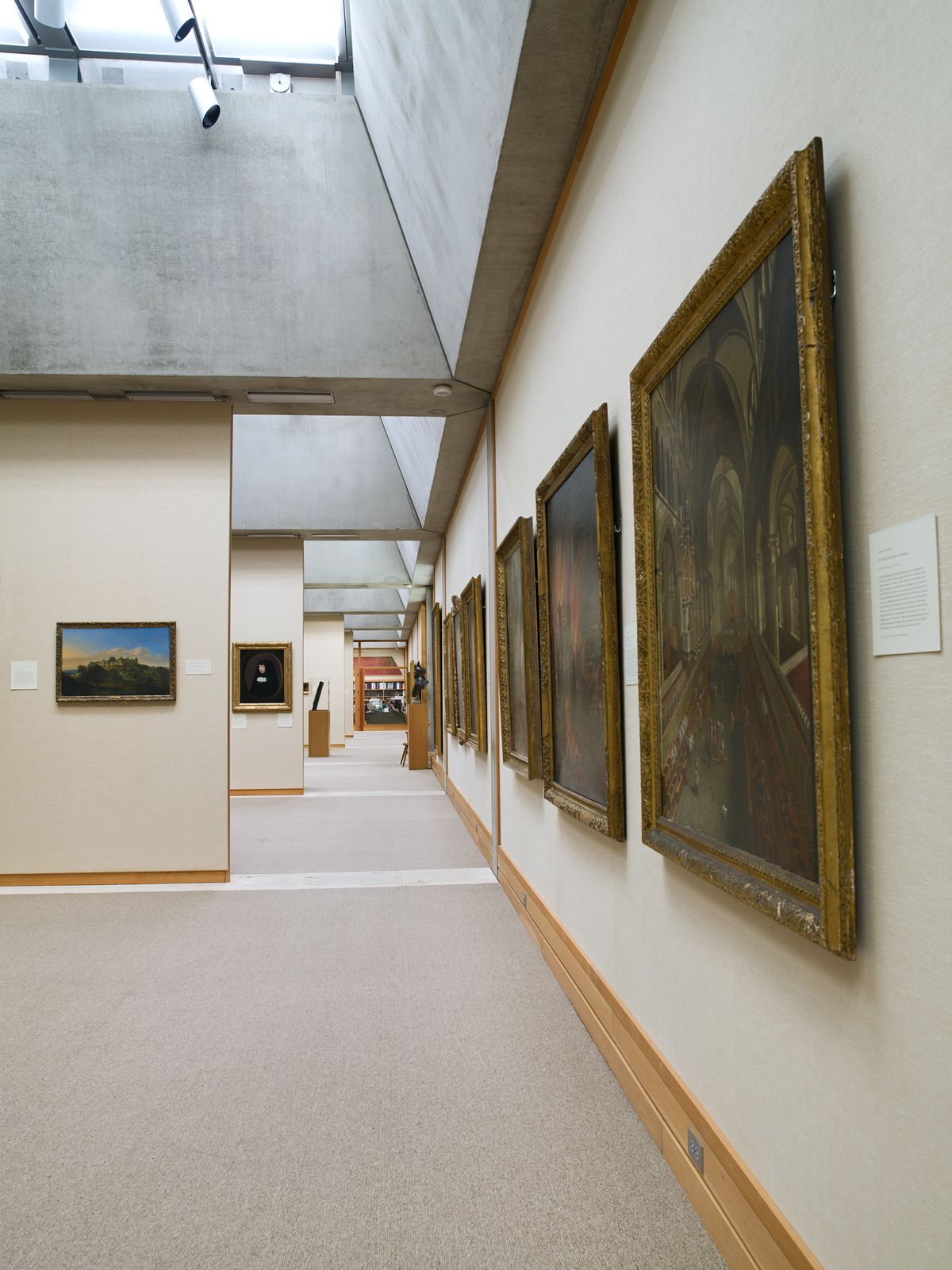 Long Gallery, May 2011, Yale Center for British Art