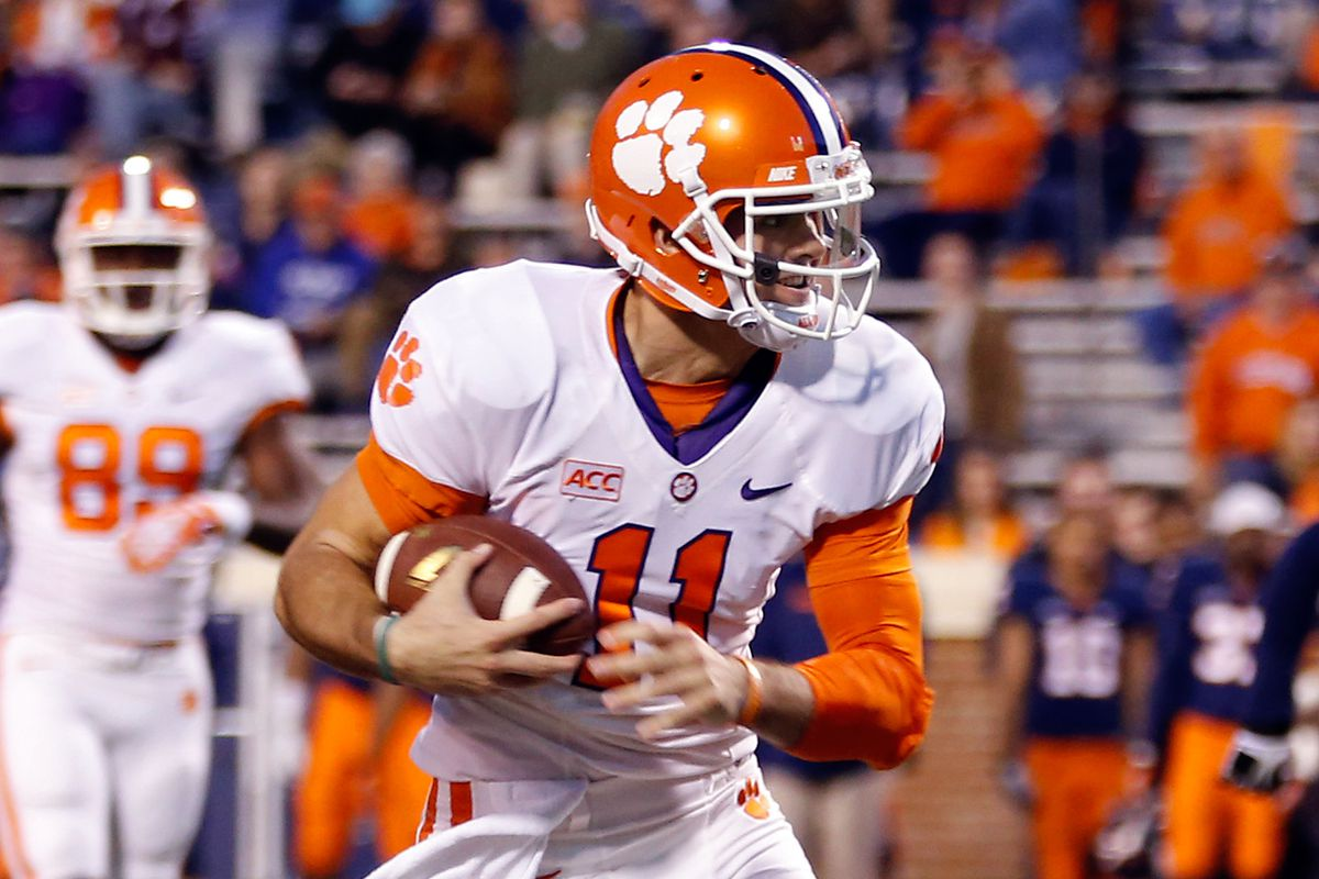 online retailer ca186 cb5b6 Former 4-star Clemson QB Chad Kelly tweets he's going to Ole ...