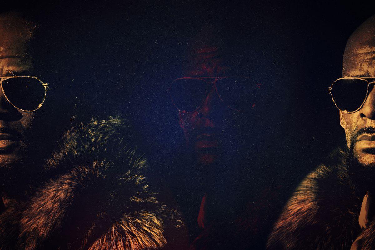 A dark portrait of R. Kelly