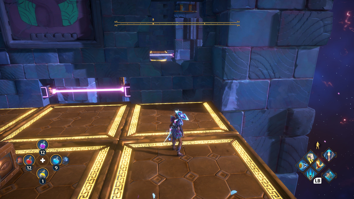 A puzzle solution to The Path of the Olympians Vault of Tartaros in Immortals Fenyx Rising