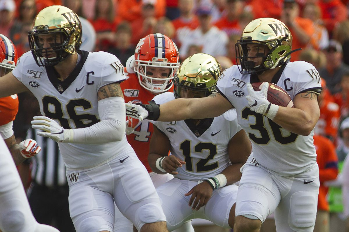Wake Forest Football The Final Stretch And Keeping