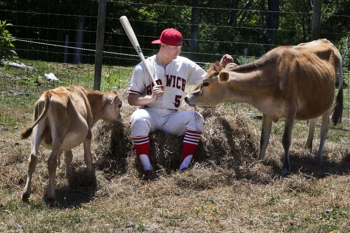 Ian Happ is a possible Cubs No. 1 pick. The cows aren't included