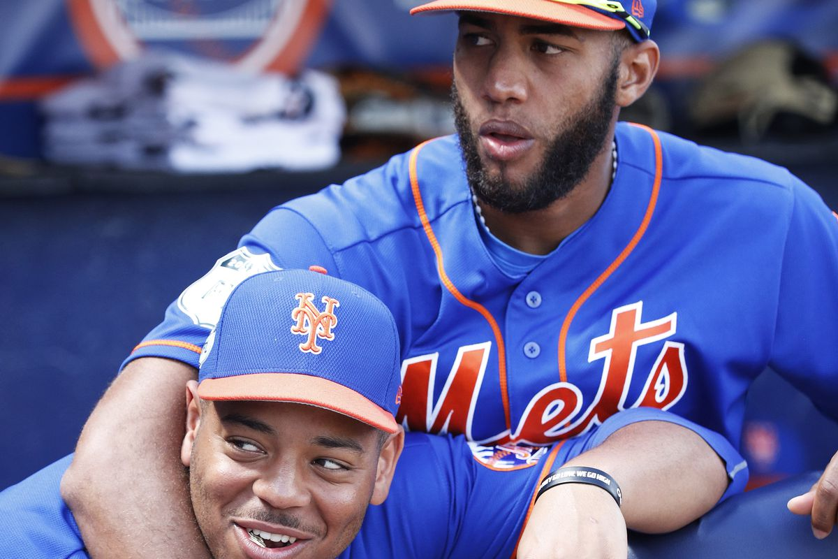 Dominic Smith and Amed Rosario