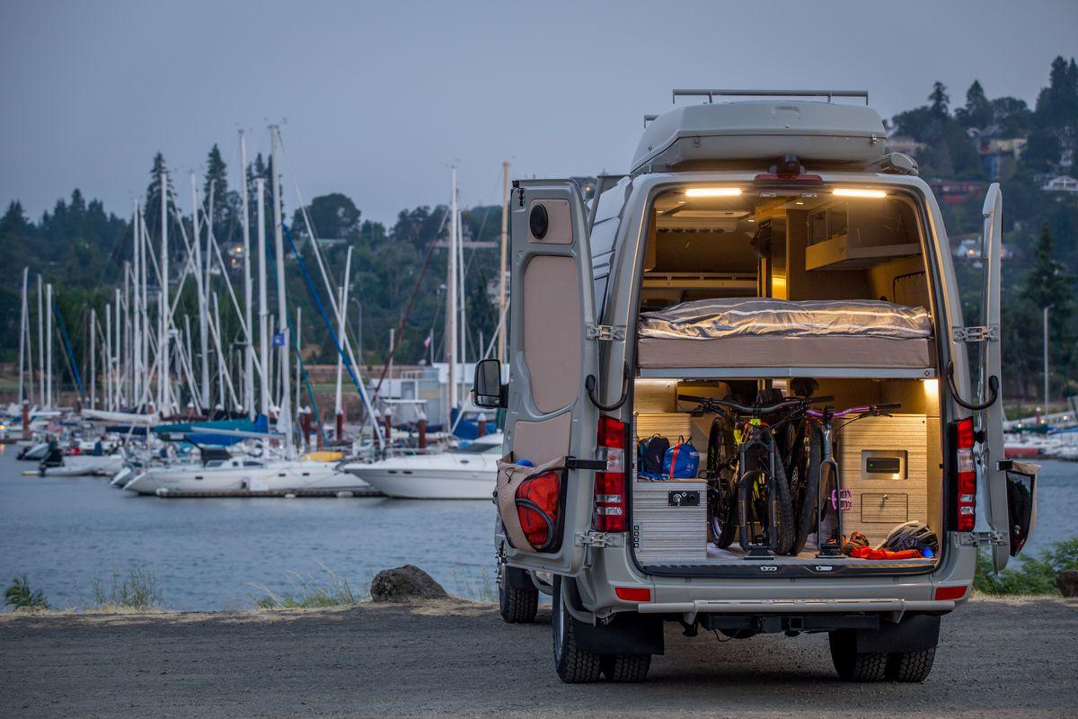 Luxury Camper Van Can Go Off Grid For Days Curbed Mercedes Benz Osv18 08 Powerstation Back02