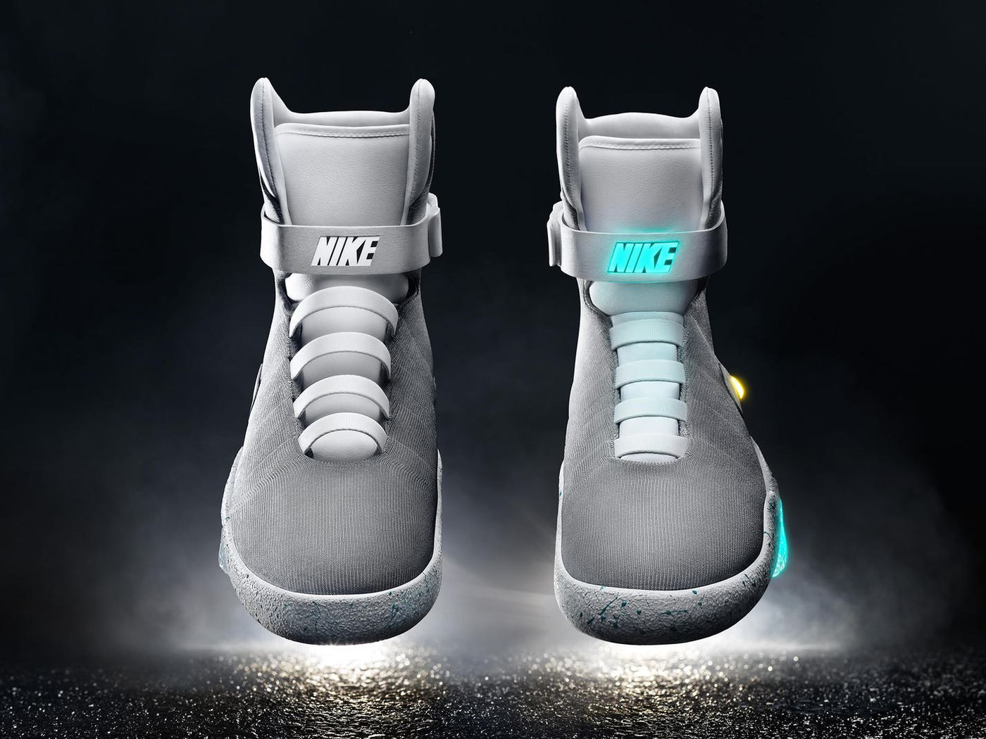 new concept e2348 435ed Nike will sell the self-lacing sneakers from Back to the Future in 2016 -  The Verge