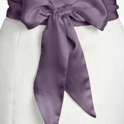 "<b>4. L. Erickson Bridal Obi Sash, <a href=""http://shop.nordstrom.com/s/l-erickson-silk-charmeuse-bridal-obi-sash/3469313?origin=keywordsearch-personalizedsort&contextualcategoryid=2375500&fashionColor=Dusty+Lavender&resultback=142&cm_sp=personalizedsort-"