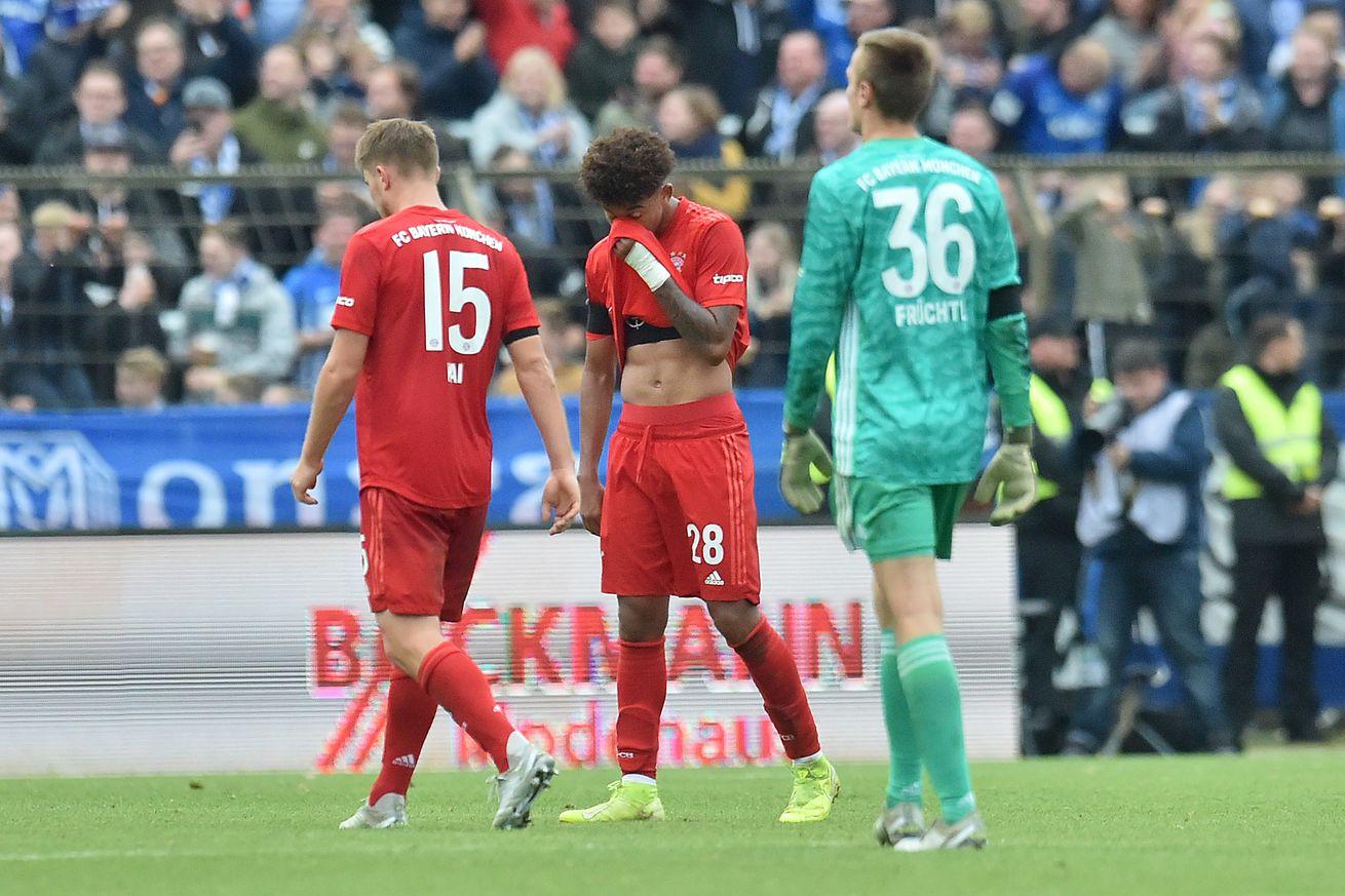 Bayern Munich II collapse late, lose to SV Meppen